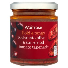Waitrose Olive & Sun-Dried Tomato Tapenade