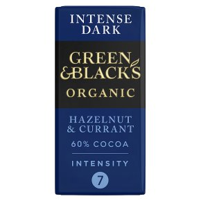 Green & Black's Dark Chocolate Hazelnut & Currant