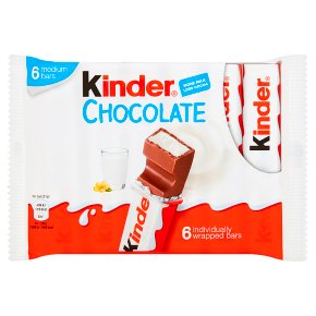 Kinder chocolate 6 bars