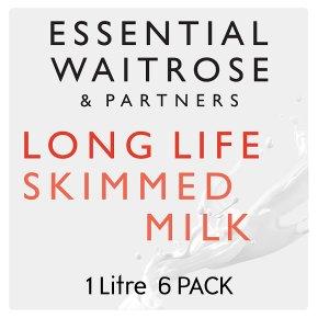 Essential Skimmed Long Life Milk