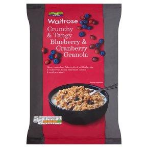 Waitrose Blueberry & Cranberry Granola