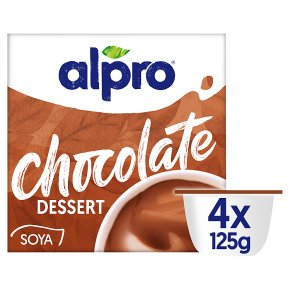 Alpro Soya Dessert Chocolate Flavoured