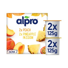 Alpro Peach & Pineapple Yoghurt Alternative