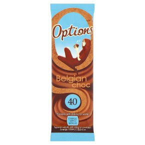 Options Belgian Choc Sachet
