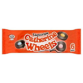 Barratt Catherine wheels liquorice