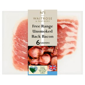 No.1 Free Range Unsmoked Back Bacon