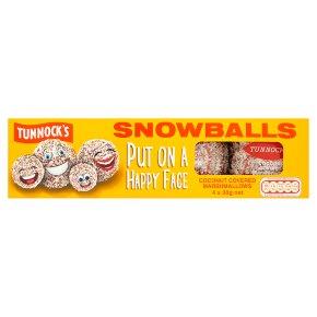 Tunnock's 4 snowballs
