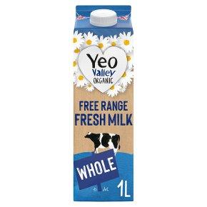 Yeo Valley fresh whole milk