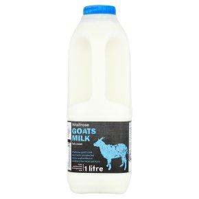 Waitrose Goats Milk Full Cream