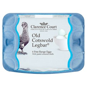 Clarence Court Old Cotswold Legbar Free Range Eggs