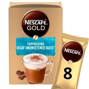 Nescafé Gold Cappuccino Decaff Unsweetened