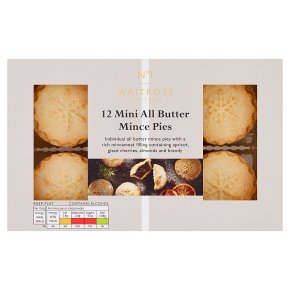 No.1 12 Mini All Butter Mince Pies