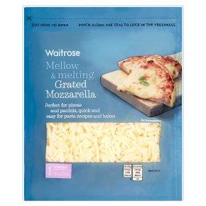 Waitrose Grated Mozzarella Strength 1