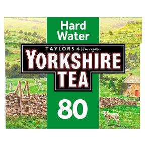 Taylors of Harrogate Yorkshire Tea Hard Water 80 Tea Bags