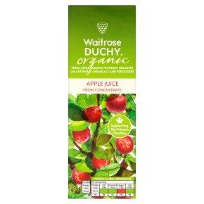 Waitrose Duchy apple juice