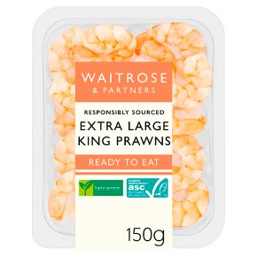 Waitrose Extra Large King Prawns ASC