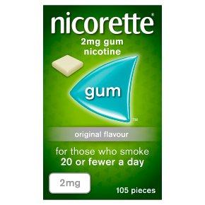 Nicorette Original 2mg Nicotine Gum