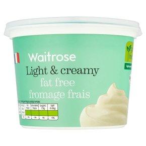 Waitrose Fat Free Fromage Frais