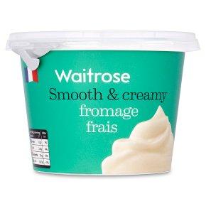 Waitrose fromage frais