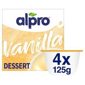Alpro Heavenly Velvet Vanilla Dessert