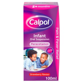 Calpol Infant Strawberry