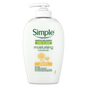 Simple handwash moisturising