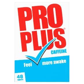 Pro Plus Caffeine Tablets