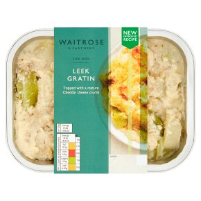 Waitrose leek gratin