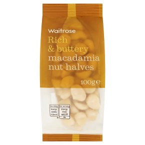 Waitrose Macadamia Nut Halves