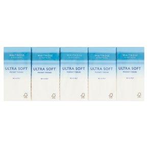 Waitrose Soft Pocket Tissues