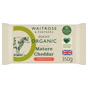 Duchy Organic Mature Cheddar Strength 4