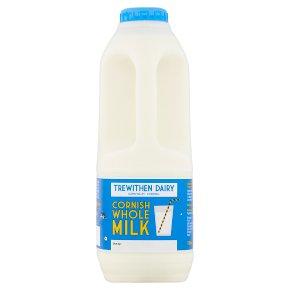 Trewithen Dairy whole Cornish milk