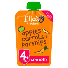 Ella's Kitchen Carrot Apple Parsnip