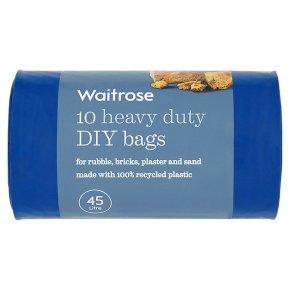 Waitrose Heavy Duty DIY Bags