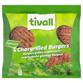 Tivall vegetarian burgers