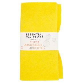 essential Waitrose super absorbent
