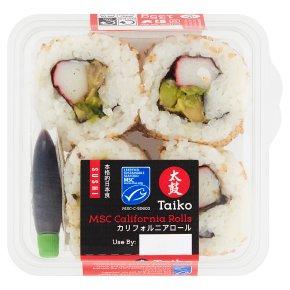 Taiko Sushi MSC California Rolls