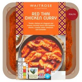 Waitrose Asian Red Thai Chicken Curry