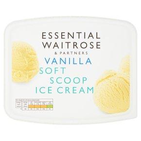 Essential Vanilla Soft Scoop Ice Cream
