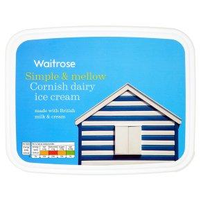 Waitrose Cornish dairy ice cream