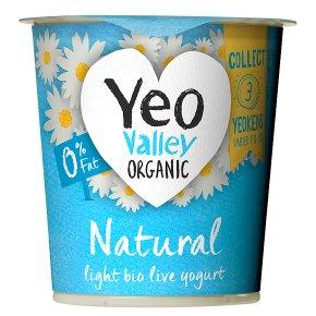 Yeo Valley 0% Fat Natural Bio Live Yogurt