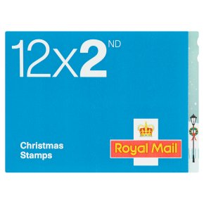 Christmas stamps 2nd class