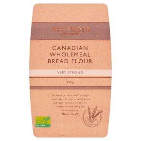 Waitrose Stoneground Bread Wholemeal Flour