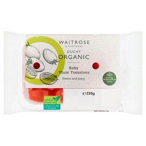 Duchy Organic Baby Plum Tomatoes