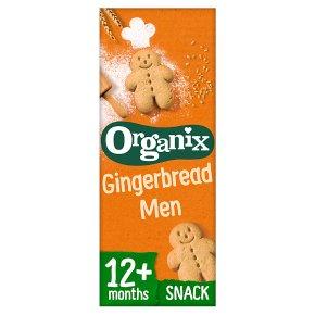 Organix Gingerbread Men Toddler Snacks