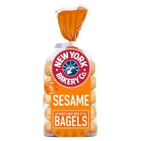 New York Bakery Co sesame bagels