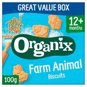 Organix Farm Animal Toddler Biscuits