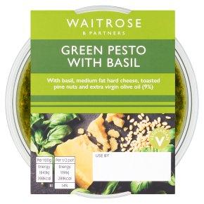 Waitrose Green Pesto with Basil