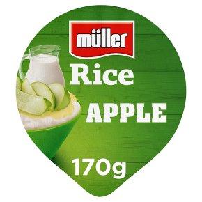Müller rice apple
