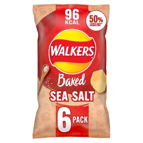 Walkers baked ready salted